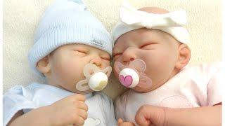 Bambole Reborn || Cambio i gemelli Kurt e Anna Lou