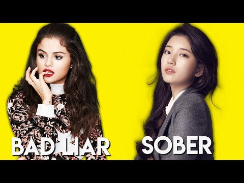 Suzy's SObeR and Selena Gomez's Bad Liar playing at the same time