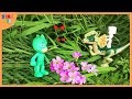 Pj masks Toy green Forest Expedition with Animal Toys