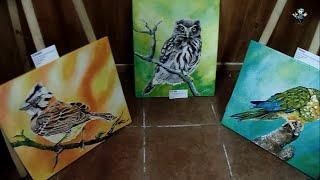 Exposición de Pinturas de artista mapuche Lorena Perez en Ruka 21 dic