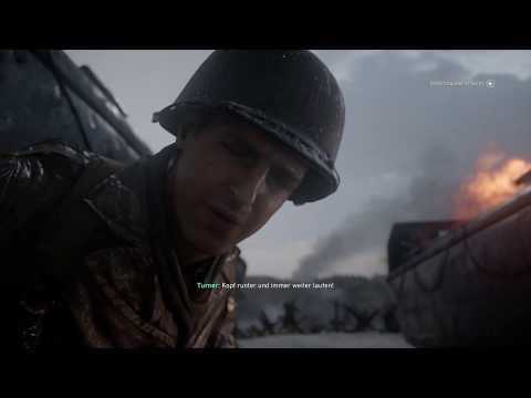 Call of Duty®: WWII - Mission 1 (Normandy in COD World War 2 )