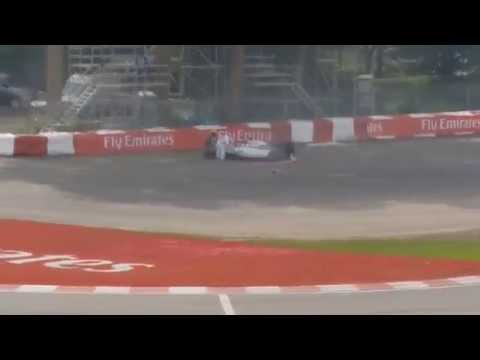 Felipe Massa and Sergio Pérez crash / Canada F1 2014 / Final Lap