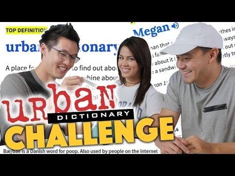 URBAN DICTIONARY CHALLENGE ft. Megan Batoon - Lunch Break!