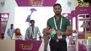 Faiza Beauty Cream @ Dubai Beauty World 2018