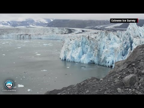 See glaciers melt before your eyes