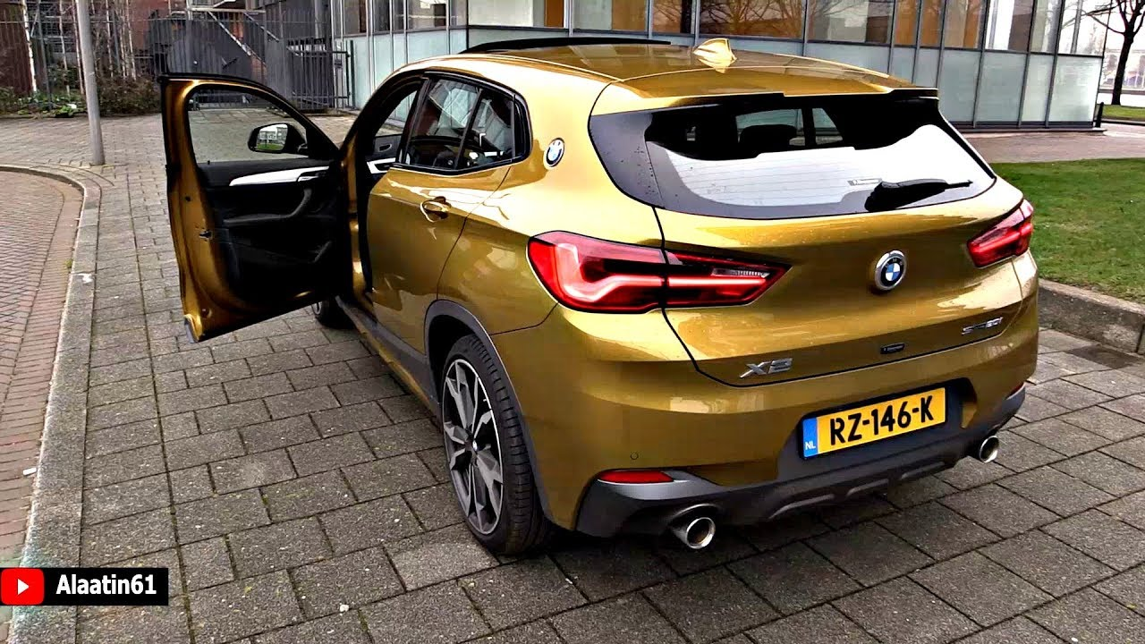 bmw x2 2018 new full test drive review interior exterior. Black Bedroom Furniture Sets. Home Design Ideas
