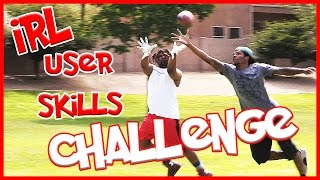 CAN HE BALL IN FAKE LIGHT UP YEEZYS??? - IRL User Skills Challenge thumbnail