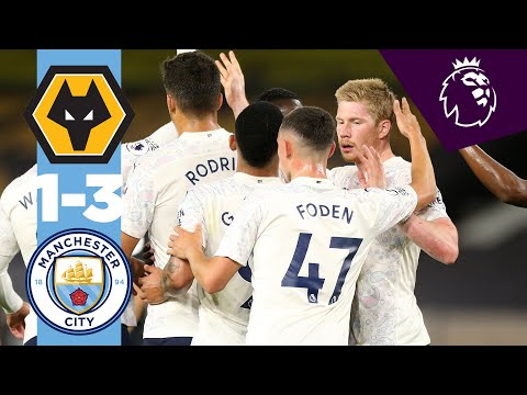 HIGHLIGHTS | WOLVES 1-3 MAN CITY | De Bruyne, Foden, Jiménez, Jesus