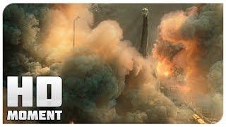 Гибель динозавров на острове - Мир Юрского периода 2 (2018) - Момент из фильма