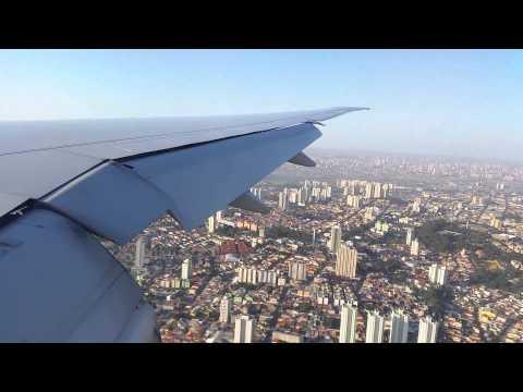 American Airlines   New! Boeing 777-300ER Beautiful landing in São Paulo [Guarulhos] - Brasil