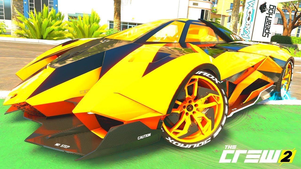 The Crew 2 Gold Edition Tuning Lamborghini Egoista Part 932