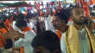 Hindu Ekta Yathra KARIMNAGAR 10-5-2018