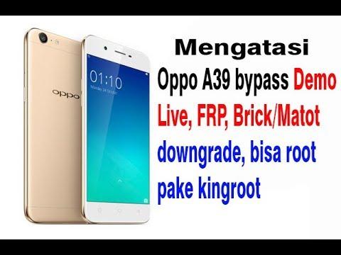 Flash Oppo A39 Bypass Logo Brick Matot Youtube