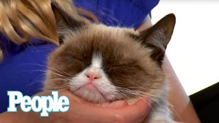 Repeat youtube video Can Grumpy Cat Smile? I PEOPLE Pets | People