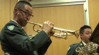 陸上自衛隊中央音楽隊メンバーによる 金管五重奏 カーペンターズ・メド...
