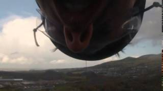 100mph Longest zipline in Europe!  GoPro Zip World Velocity UK, Snowdonia, Wales