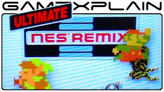 Ultimate NES Remix: Mario Bros. 3 & Remix II Challenge Gameplay (w/ Direct Sound - 3DS)