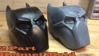 Mold-Making Tutorial: Two Part Helmet Mold