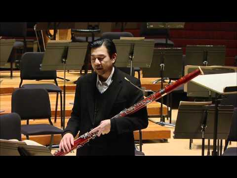 The Firebird - Berceuse Master Class by Philadelphia Orchestra Principal Bassoon Daniel Matsukawa