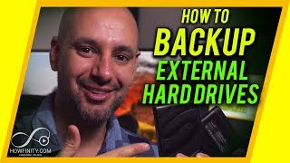How to backup and sync hard drives on Mac