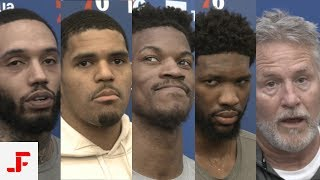 RAPTORS VS SIXERS NBA PLAYOFFS PRACTICE | EMBIID BUTLER HARRIS MIKE & BROWN | NBA SOUND | 05.02.2019