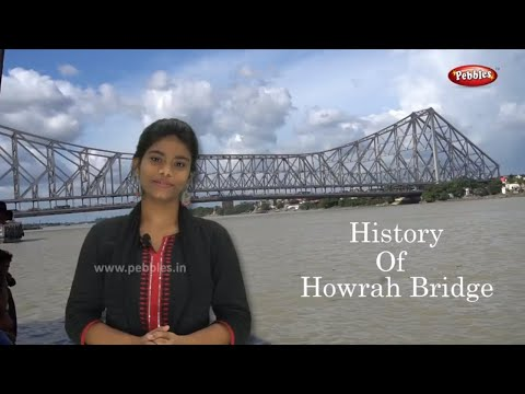 Indian Tour in Kolkata || History of Howrah Bridge || Kolkata || Bengali Video