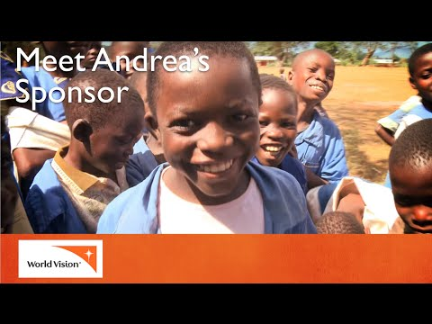 Meet Andrea and his sponsor | World Vision