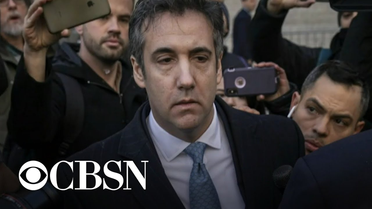 Former Trump Lawyer Michael Cohen Is Back In Federal Prison