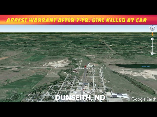 Arrest Warrant Issued After 7-Year Old Struck & Killed By Car In Dunseith, ND