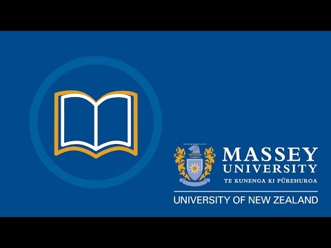 Library services for students studying offshore | Massey University