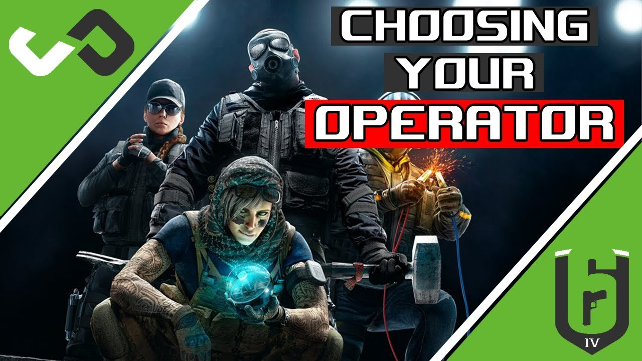 Which Operators to choose - Rainbow Six Siege - R6 Academy