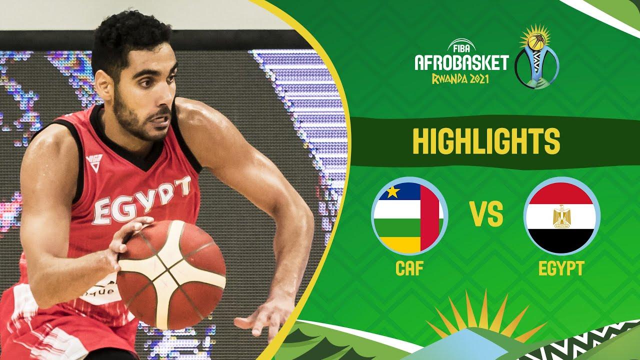 CAF - Egypt | Game Highlights - FIBA AfroBasket 2021
