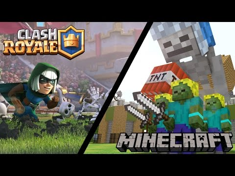 FILM CLASH ROYALE SUR MINECRAFT COMPLET !!!