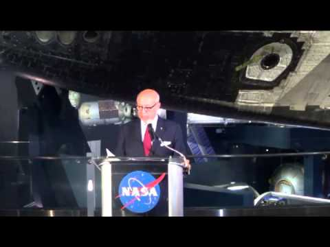 Press Conference for Space Shuttle Atlantis Kennedy Space Ce