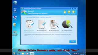 asunsoft Data Recovery for  Windows 7