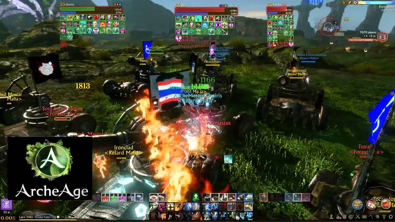 Aranzeb Siege - Retard Mafia vs. Forestcrow