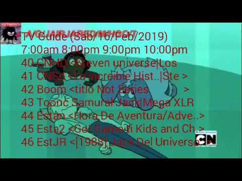 tv guide hd cartoon