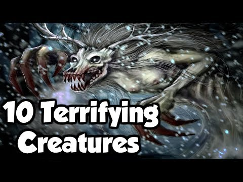 10 Terrifying Mythological Creatures From Around The World! (Mythology Explained)