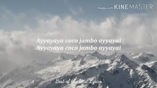 9Tendo & Mr.President Coco Jamboo lyrics