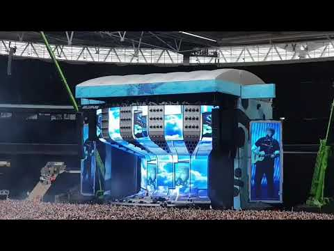 Ed Sheeran Live at Wembley Stadium featuring Stormzy JAMIE Lawson & Anne Marie Shape of you surprise
