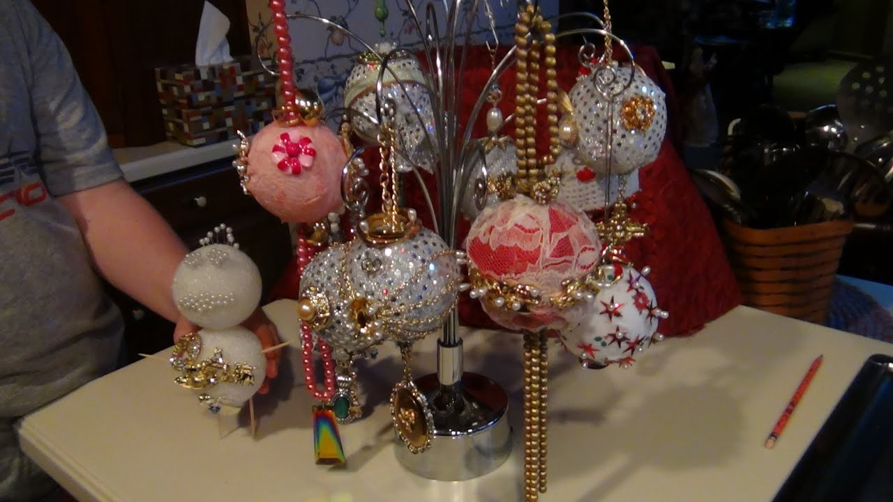 HOW TO MAKE HEIRLOOM CHRISTMAS ORNAMENTS WITH JEWELRY ...