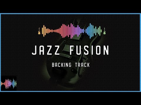 Jazz Fusion Guitar Backing Track Jam in D Major