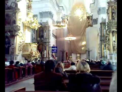 Служба в католическом костеле г.Гродно