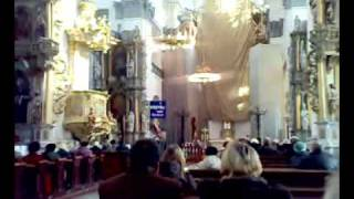 Служба в католическом костеле г.Гродно(Служба в Фарном костеле Гродно., 2010-03-09T10:40:44.000Z)