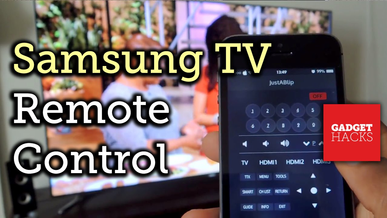 Smart Tv Samsung Control Iphone