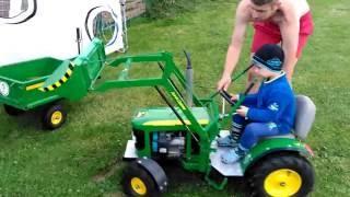 John Deere tractor for children 4