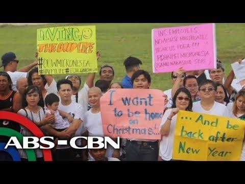TV Patrol: Ilang OFW, dumadaing sa deployment ban sa Micronesia