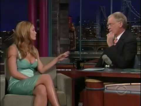 Bar Refaeli At Late Show With David Letterman