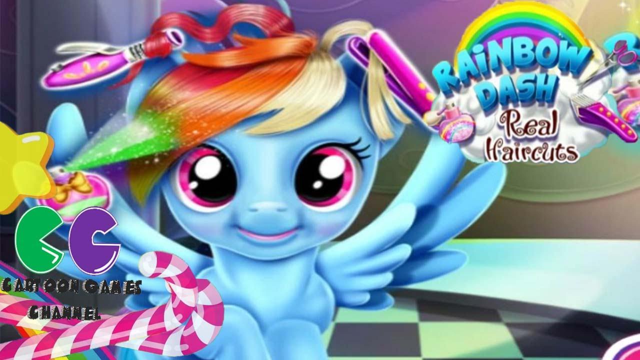 pony rainbow dash real haircuts