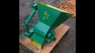 Rębak BZK do malin, krótkich gałęzi (Wood chipper)